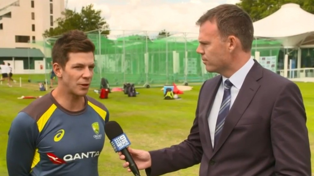 Tim Paine considers brave captain's call during Ashes