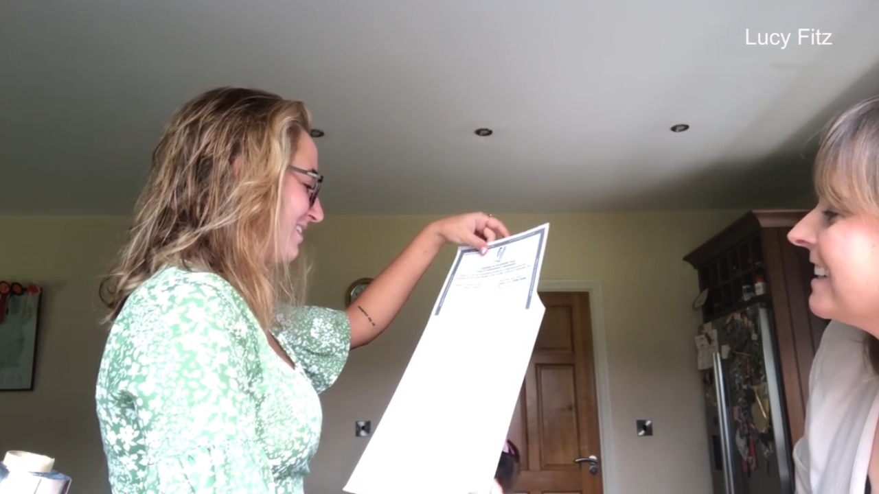 Influencer bursts into tears upon live streaming her exam results