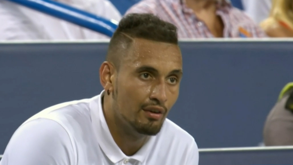 Kyrgios handed massive fine for meltdown