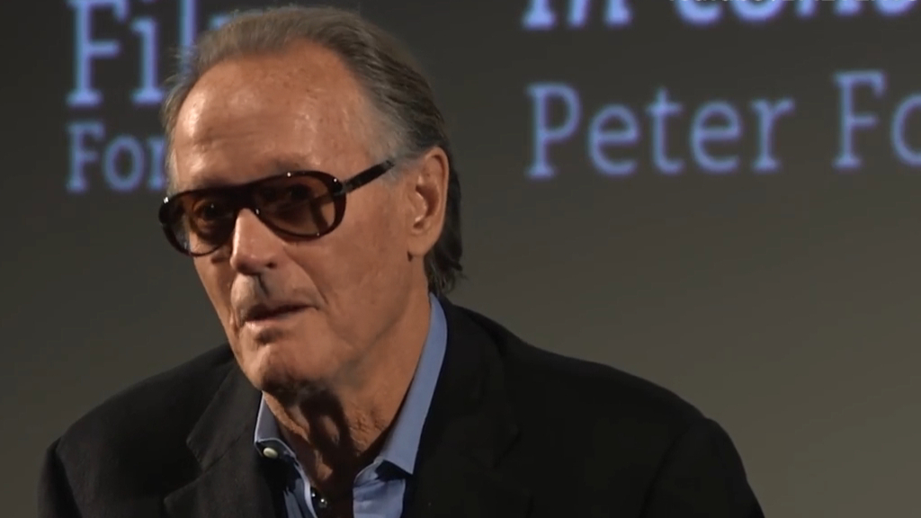 Peter Fonda reveals father thought that pursuing 'Easy Rider' was 'unwise'