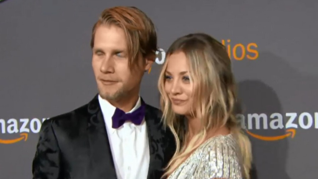 Kaley Cuoco reveals she doesn't live with husband Karl Cook