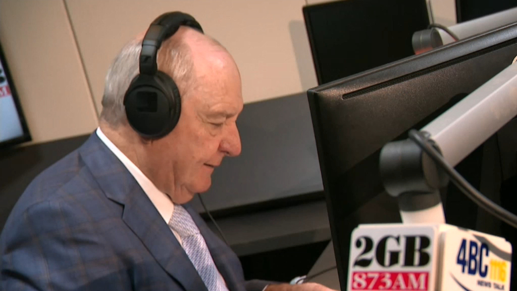 Alan Jones issued final warning