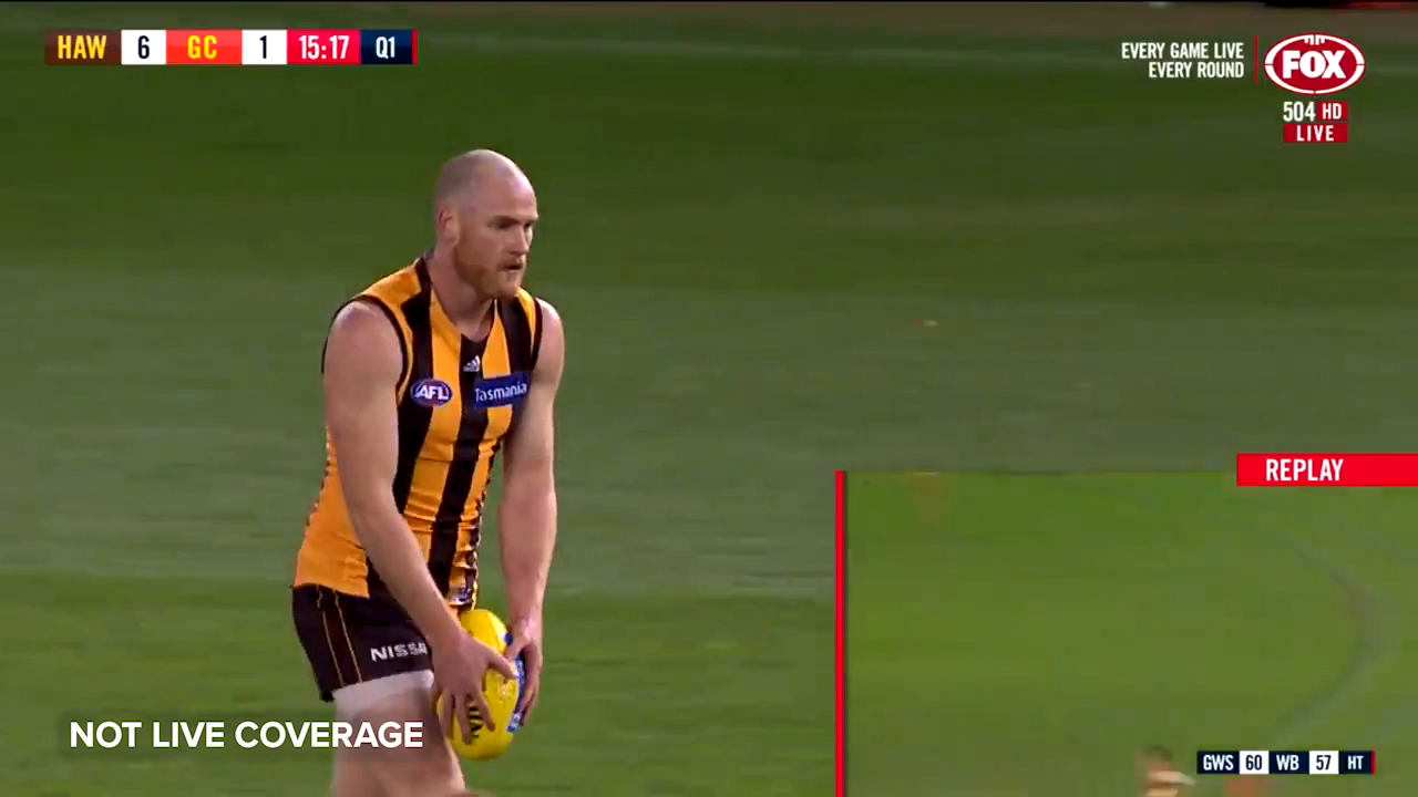 Roughead kicks his first