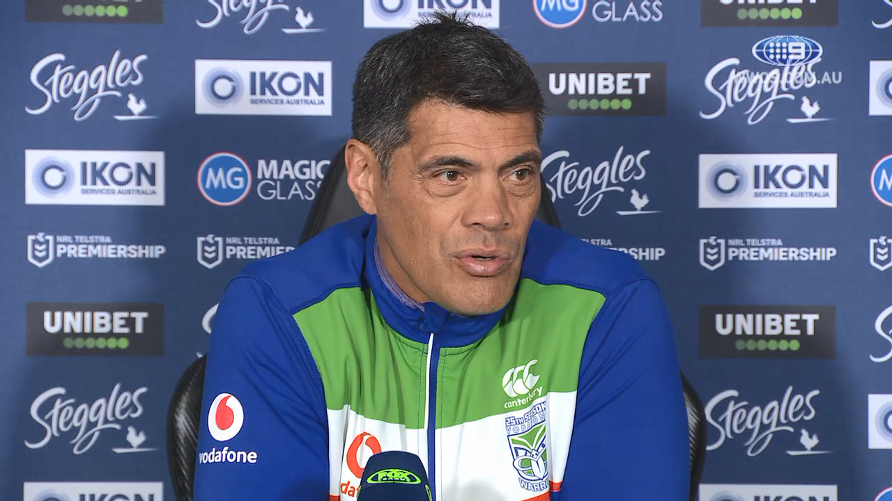 NRL Video 2019: Stephen Kearney Press Conference Round 22