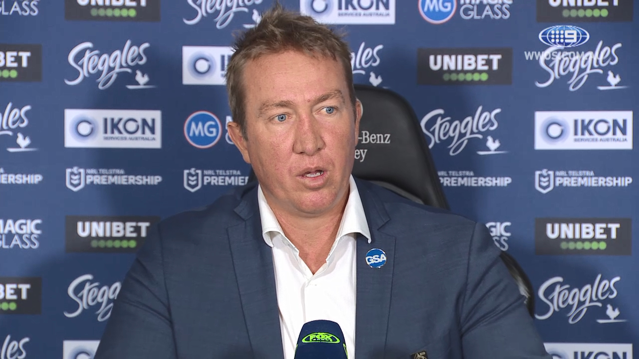 NRL Video 2019: Press Conference Trent Robinson