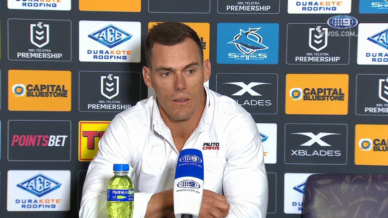 NRL video 2019: Press Conference John Morris - Round 22