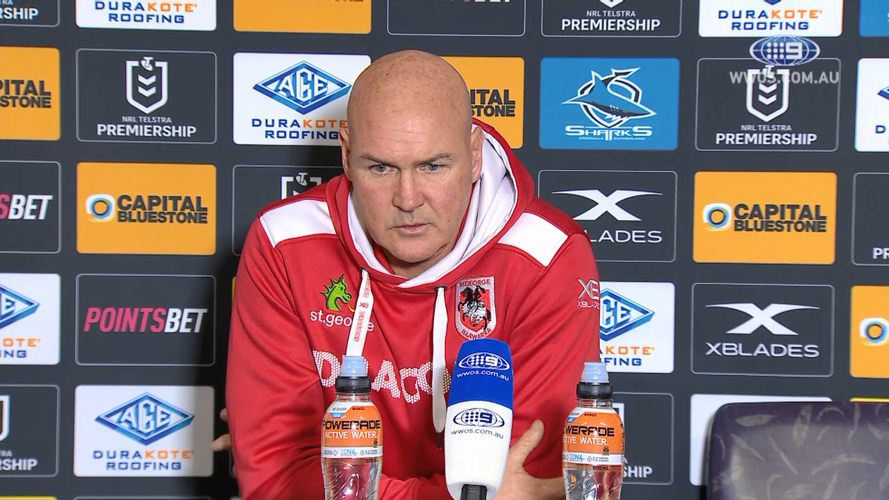 NRL Video 2019:  Press Conference Paul McGregor - Round 22