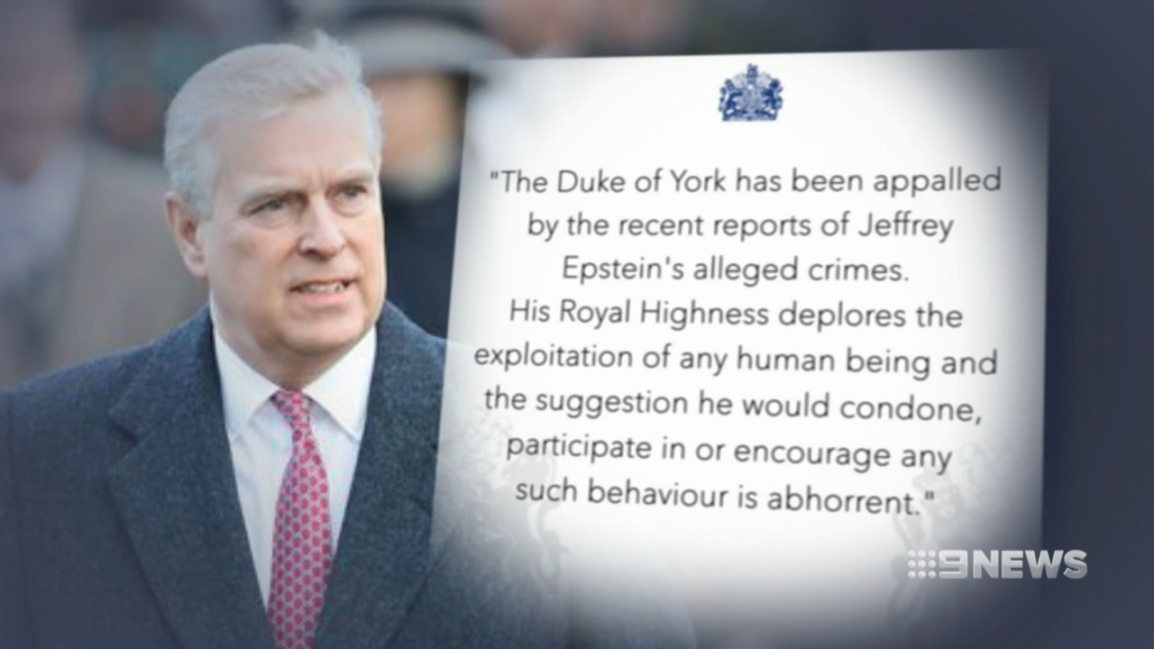 Prince Andrew breaks silence over controversial photo