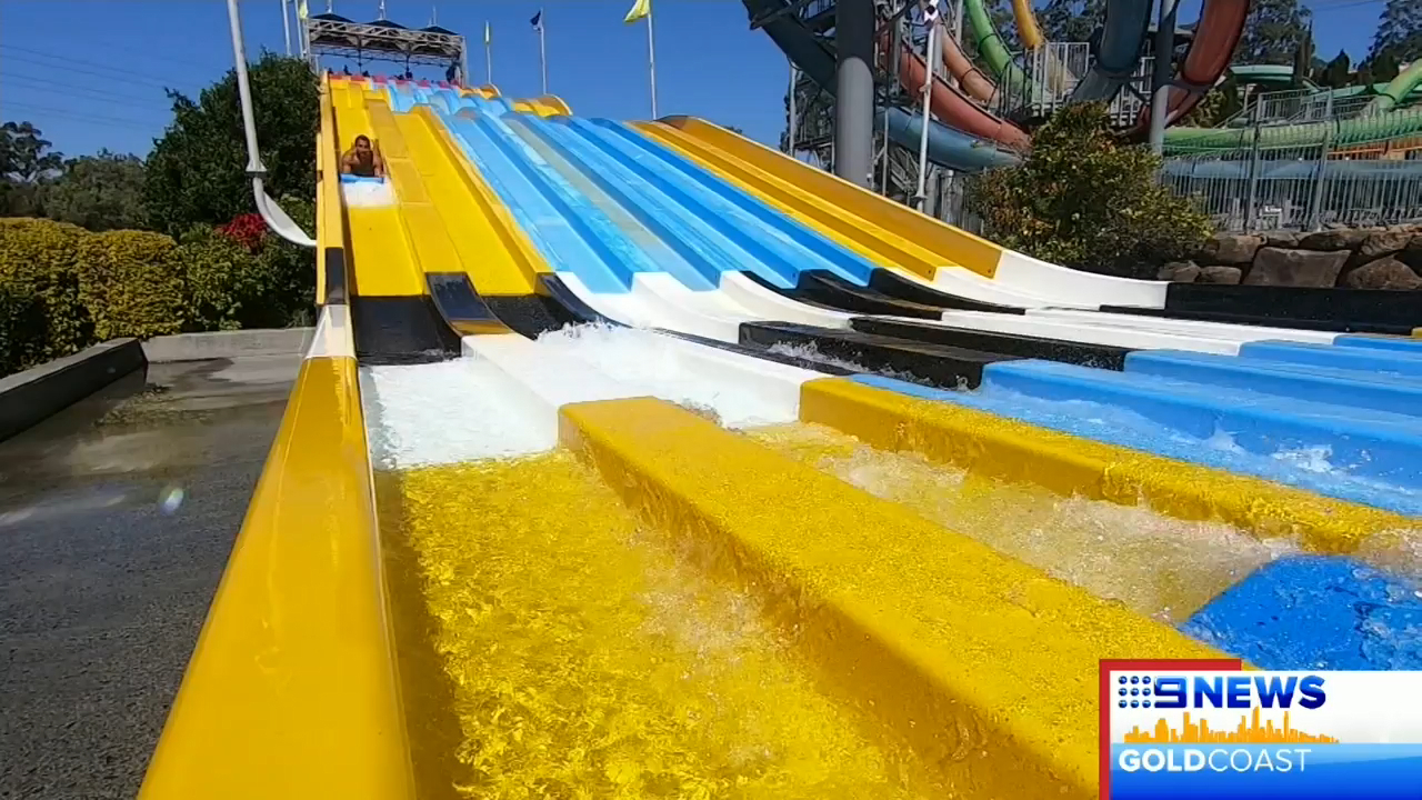 Gold Coast water park has official ride testers to inspect slides