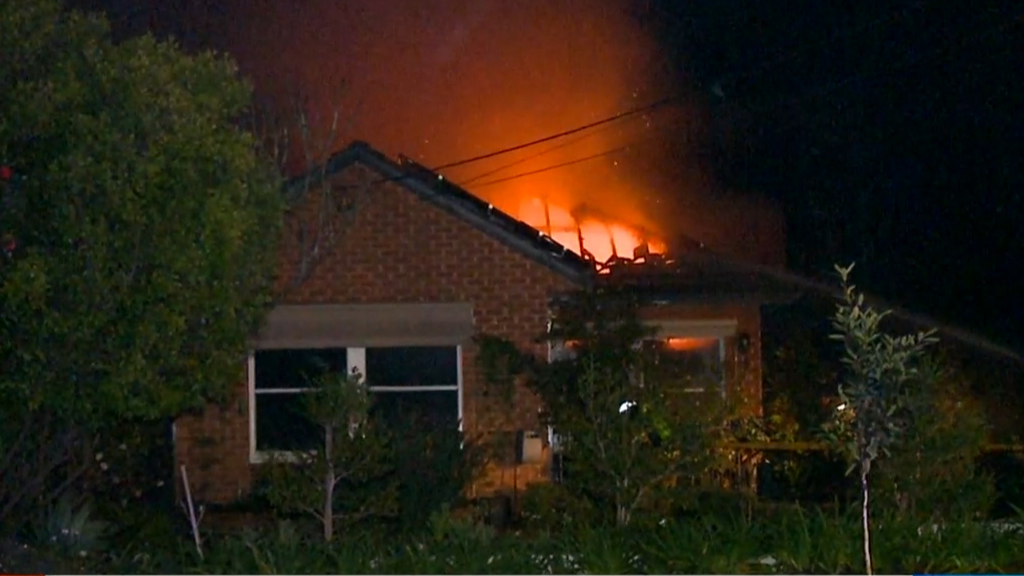 Sydney home destroyed