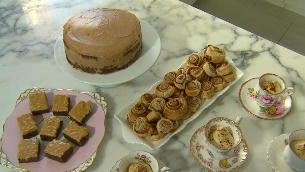 Three ingredient decadent desserts
