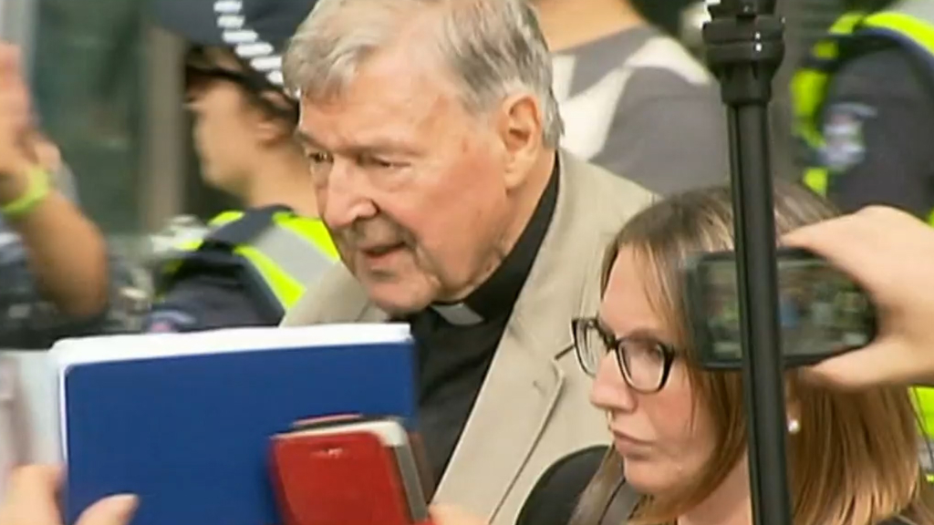Australian court rejects Cardinal George Pell's appeal