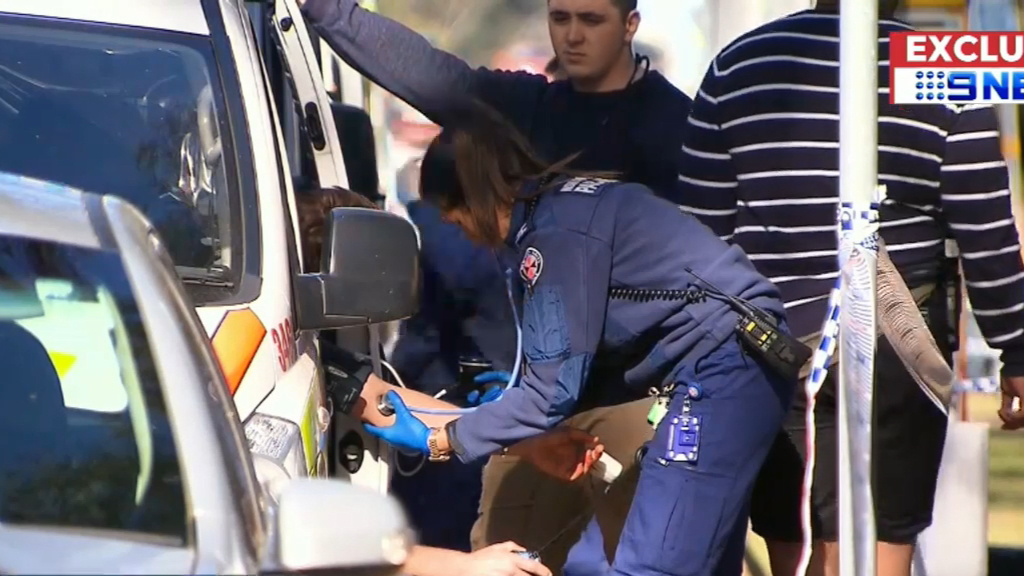 Police officer stabbed in Sydney