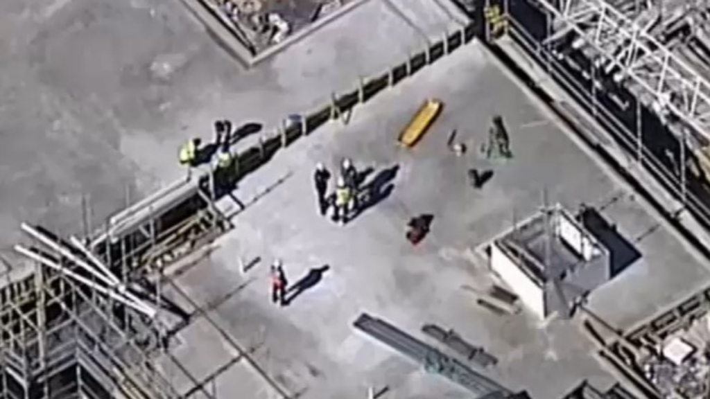 Worker dies on building site in western Sydney