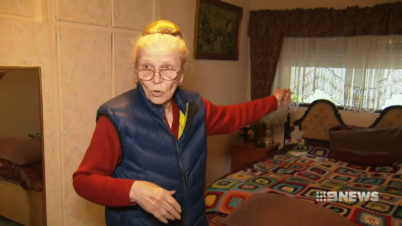Elderly woman attacked in home invasion