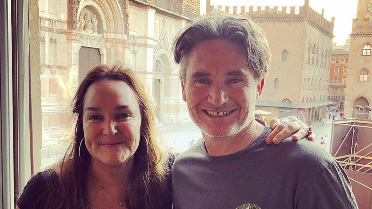 Kate Langbroek reveals Dave Hughes' attempts to get her back to Australia