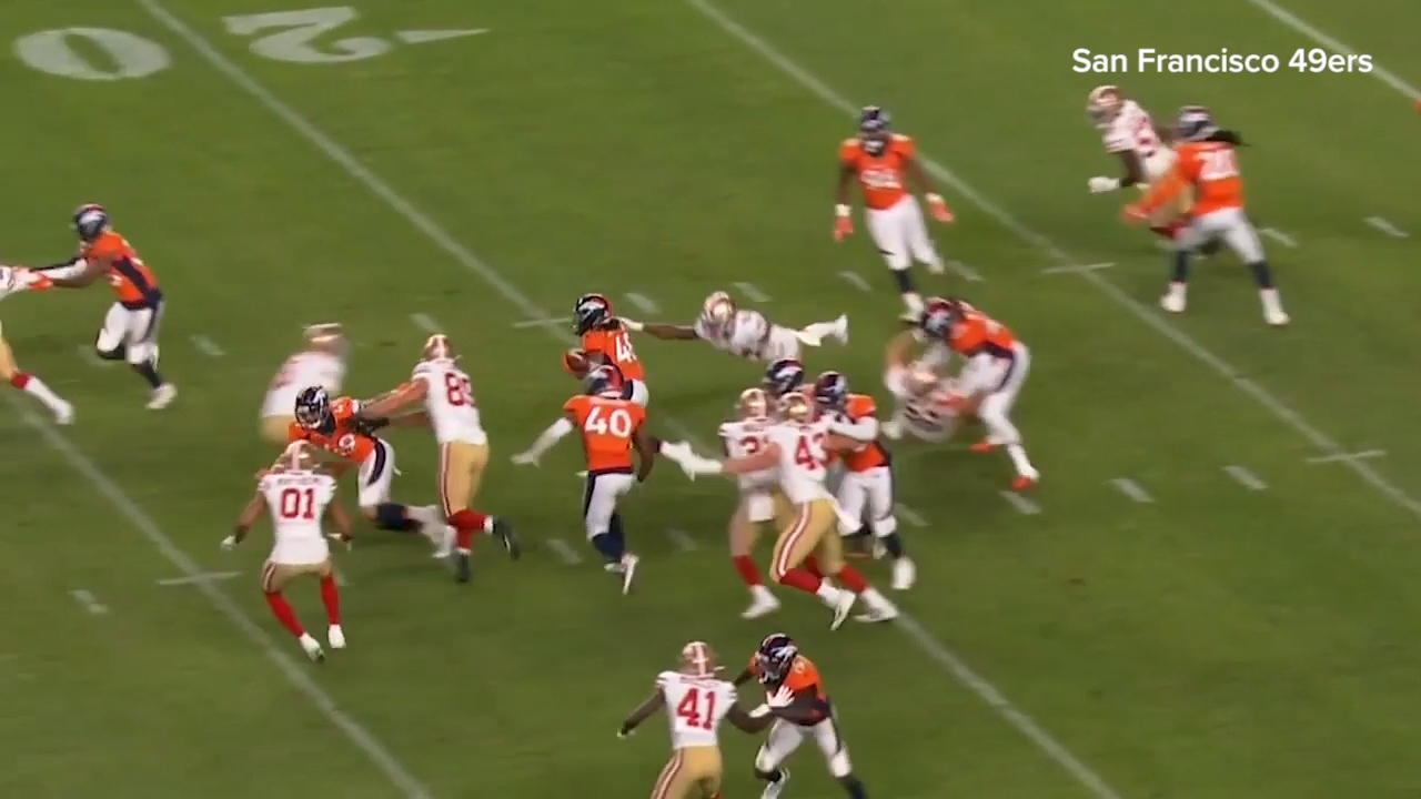 'Aussies don't f--- around': 49ers react to Wishnowsky tackle