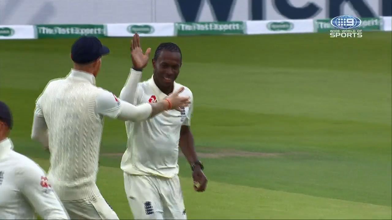 Ashes 2019: Marcus Harris falls as rain comes