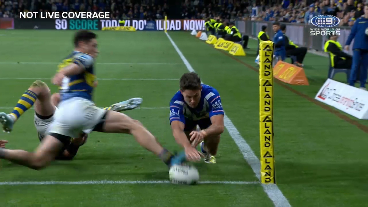 Bulldogs awarded penalty try
