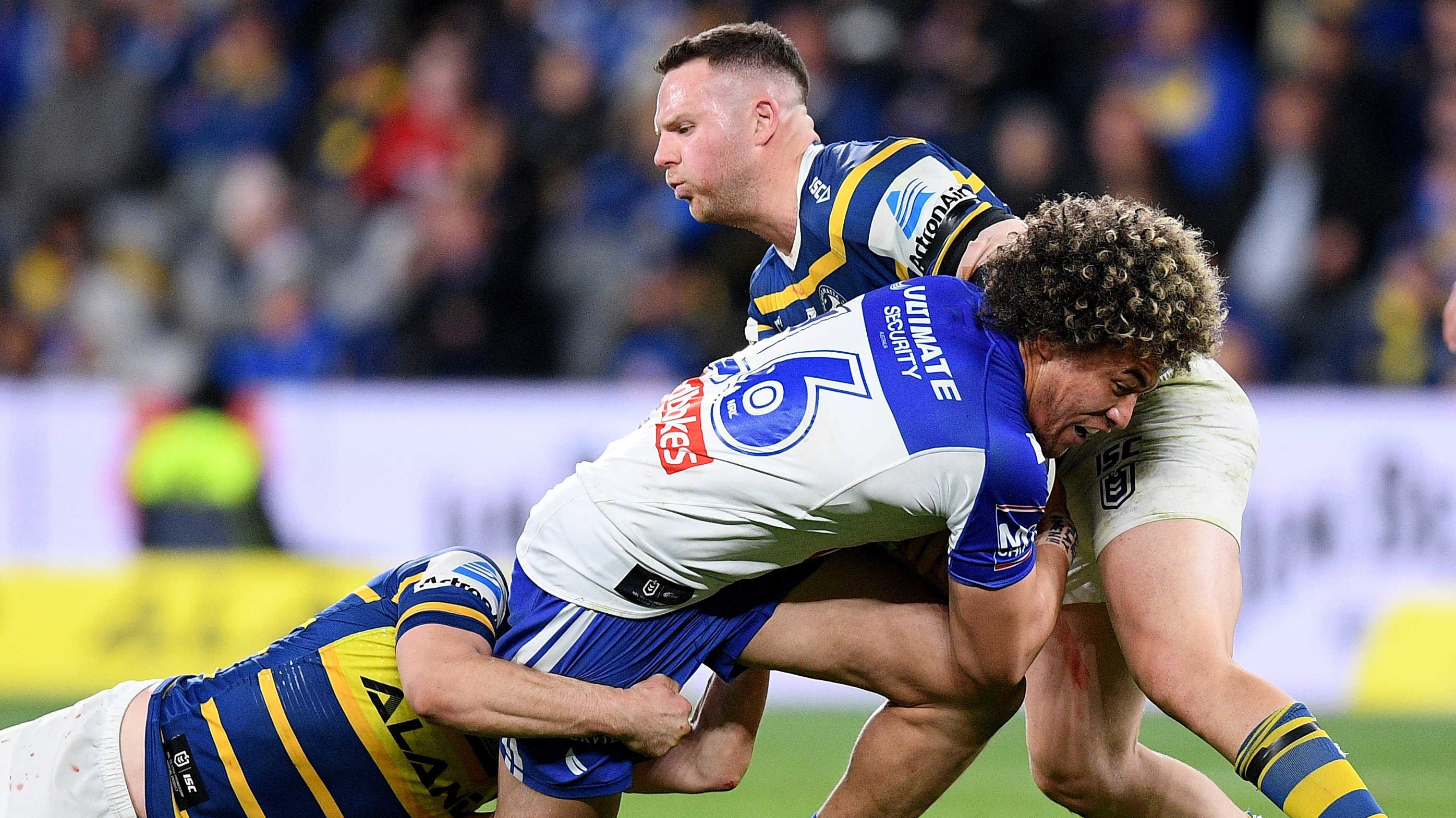 NRL Video 2019 | Highlights | Parramatta Eels v Canterbury-Bankstown Bulldogs - Round 23