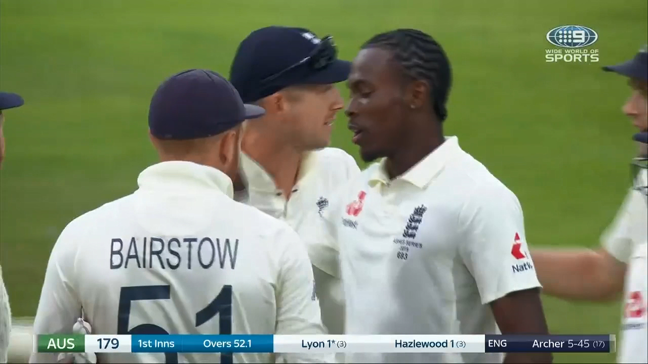 Ashes 2019: Day 1 Highlights | Official Wide World of Sports highlights, replays and commentary