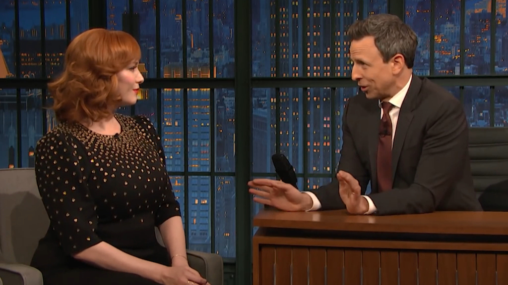 Christina Hendricks opens up her previous jobs