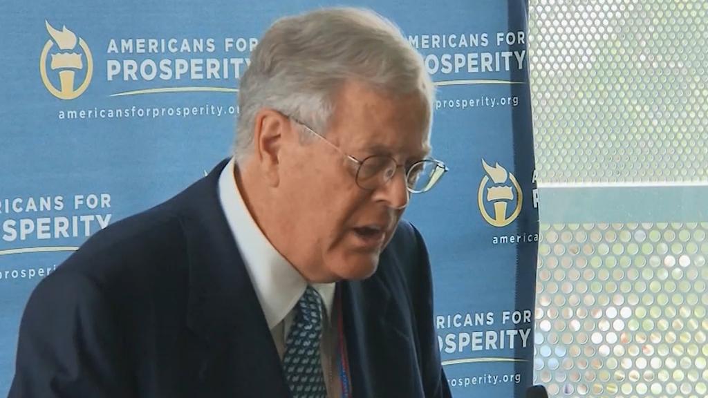 US billionaire David Koch dies