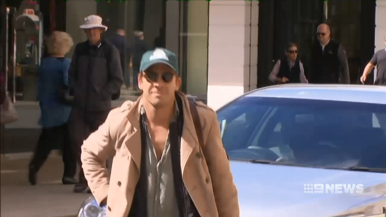 Hugh Sheridan caught up in a violent attack in Perth