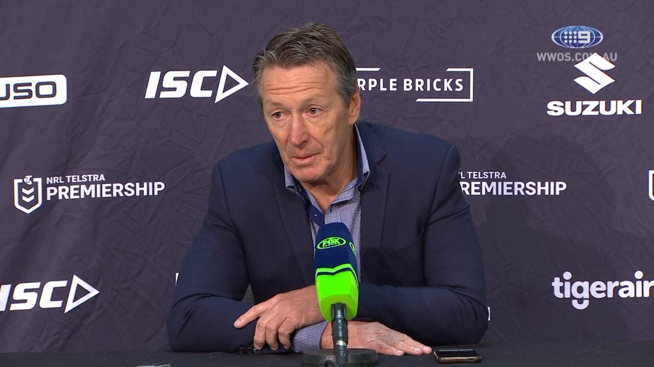 NRL Video 2019 | NRL Press Conference: Craig Bellamy - Round 23