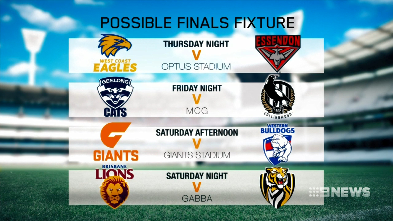 Eagles likely to open finals