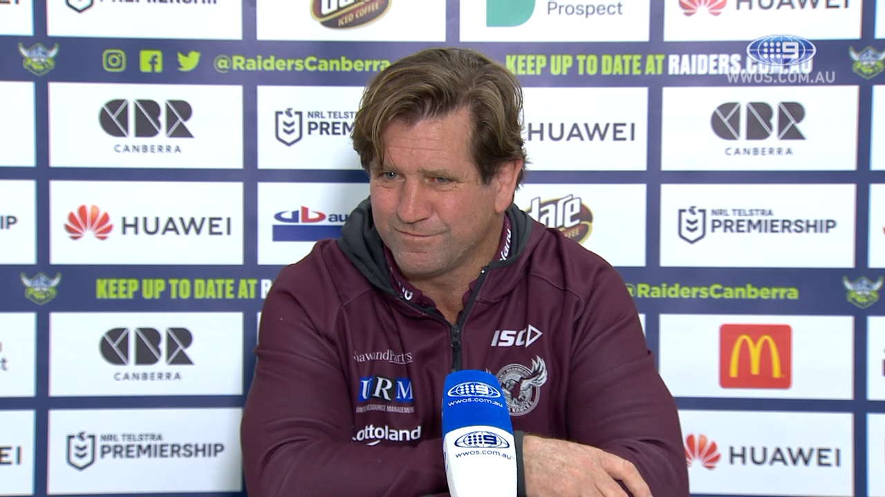 NRL Video 2019 | NRL Press Conference: Des Hasler - Round 23