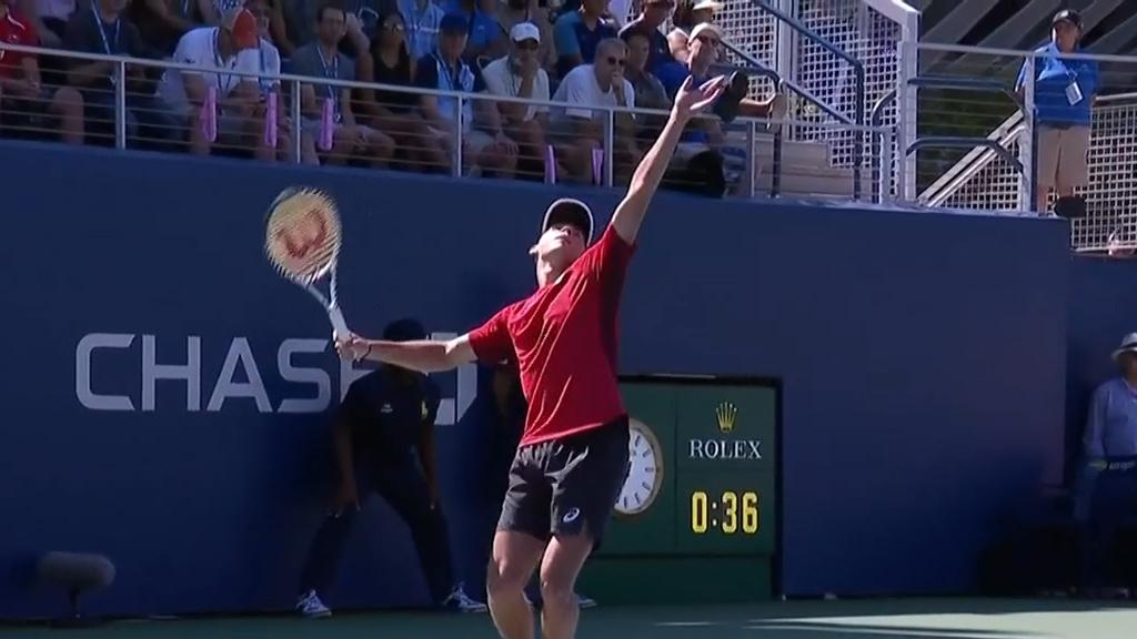 De Minaur through to US Open third round