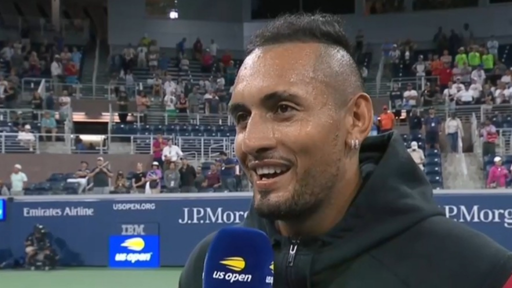 Kyrgios' advice for his young fans