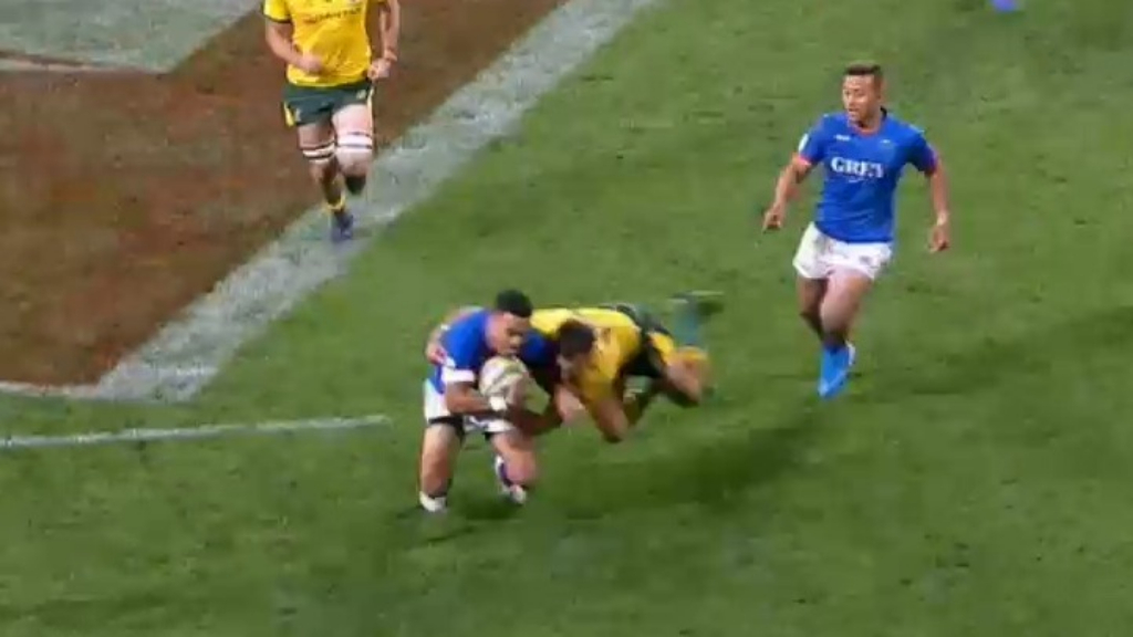 Wallabies survive Samoa scare