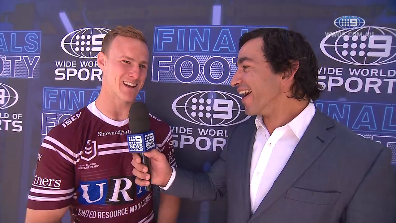 Daly Cherry-Evans at NRL Finals launch