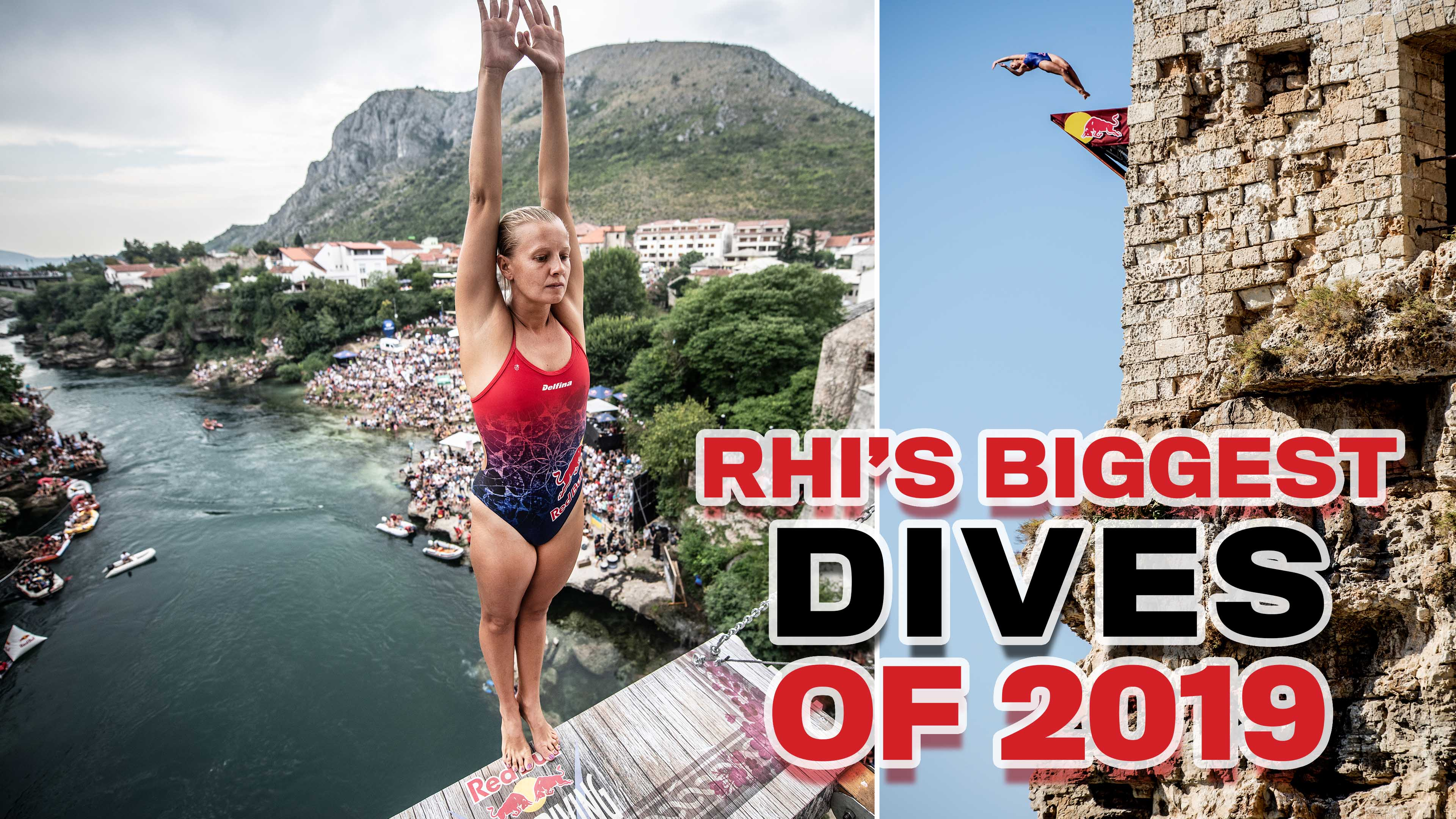 Rhiannan Iffland's best dives of 2019 Red Bull Cliff Diving World Series