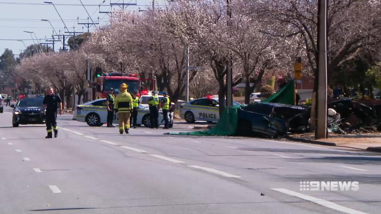 Man dies from high speed crash in Adelaide