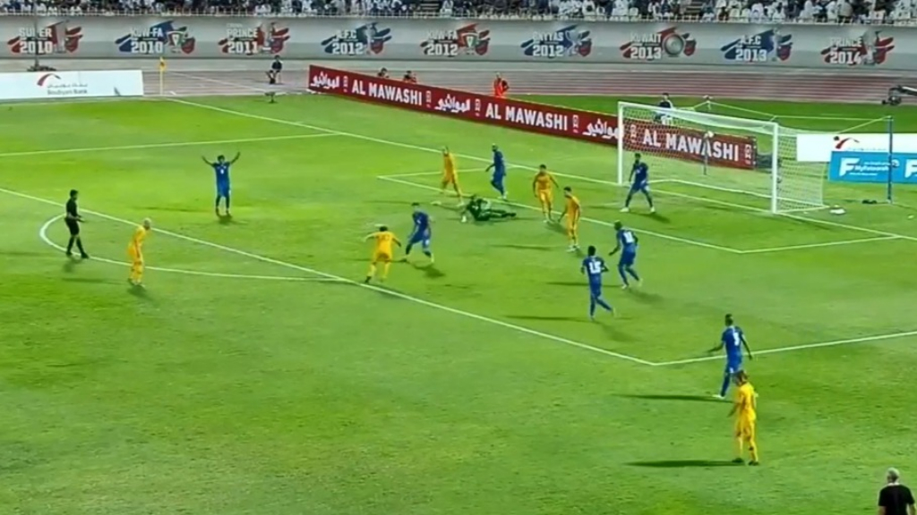 Socceroos blitz Kuwait in WCQ