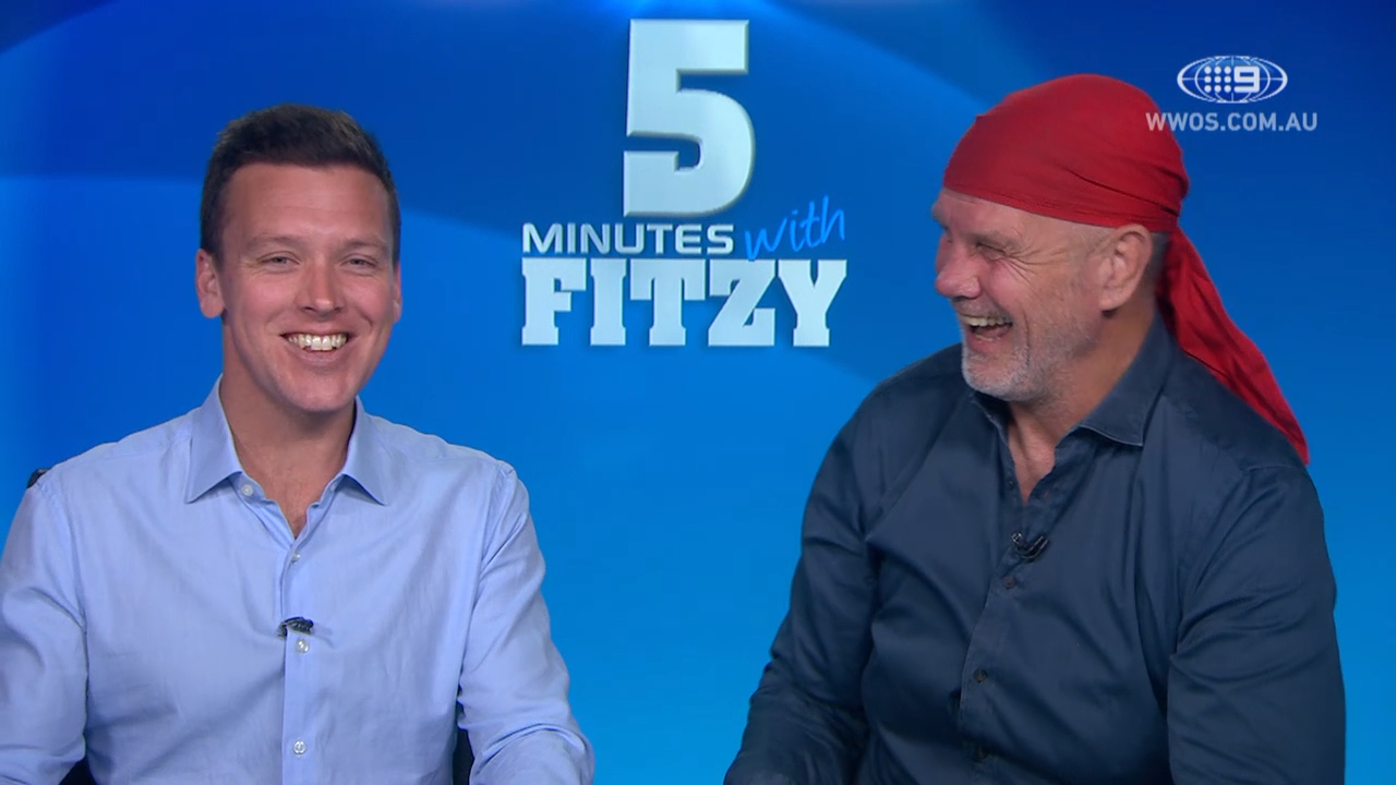 Rugby Video 2019 | Peter FitzSimons | Rugby, it's just like a roast dinner: 5 Mins with Fitzy