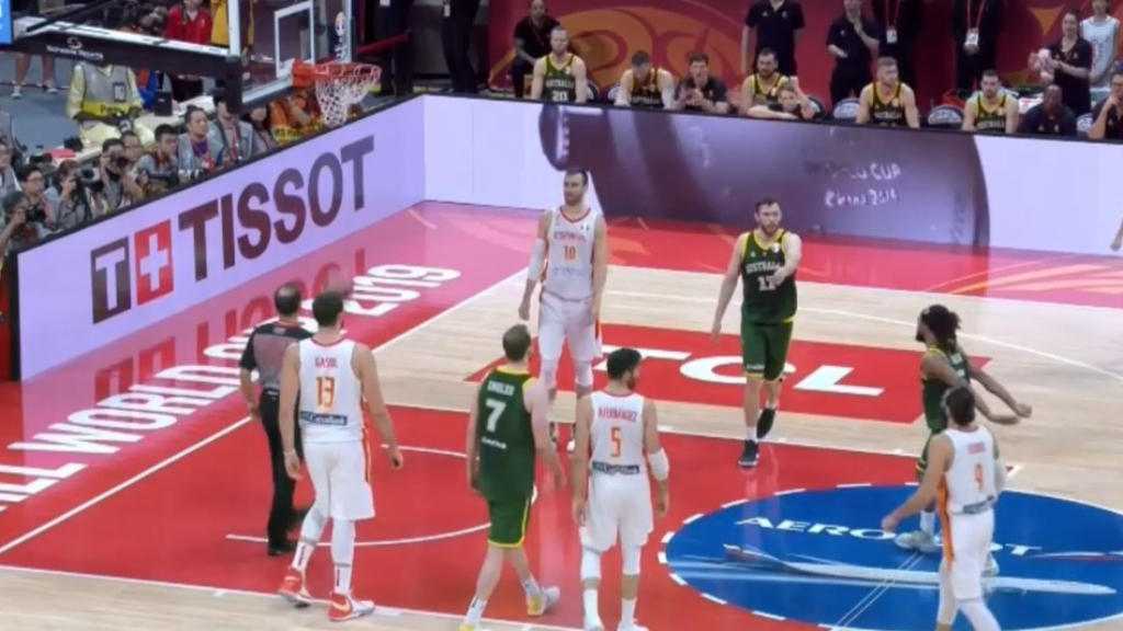 Mills sent the FIBA World Cup semi against Spain into overtime by making 1 of his free throw shots, but luckily Ricky Rubio didn't make his hail-mary on the buzzer.