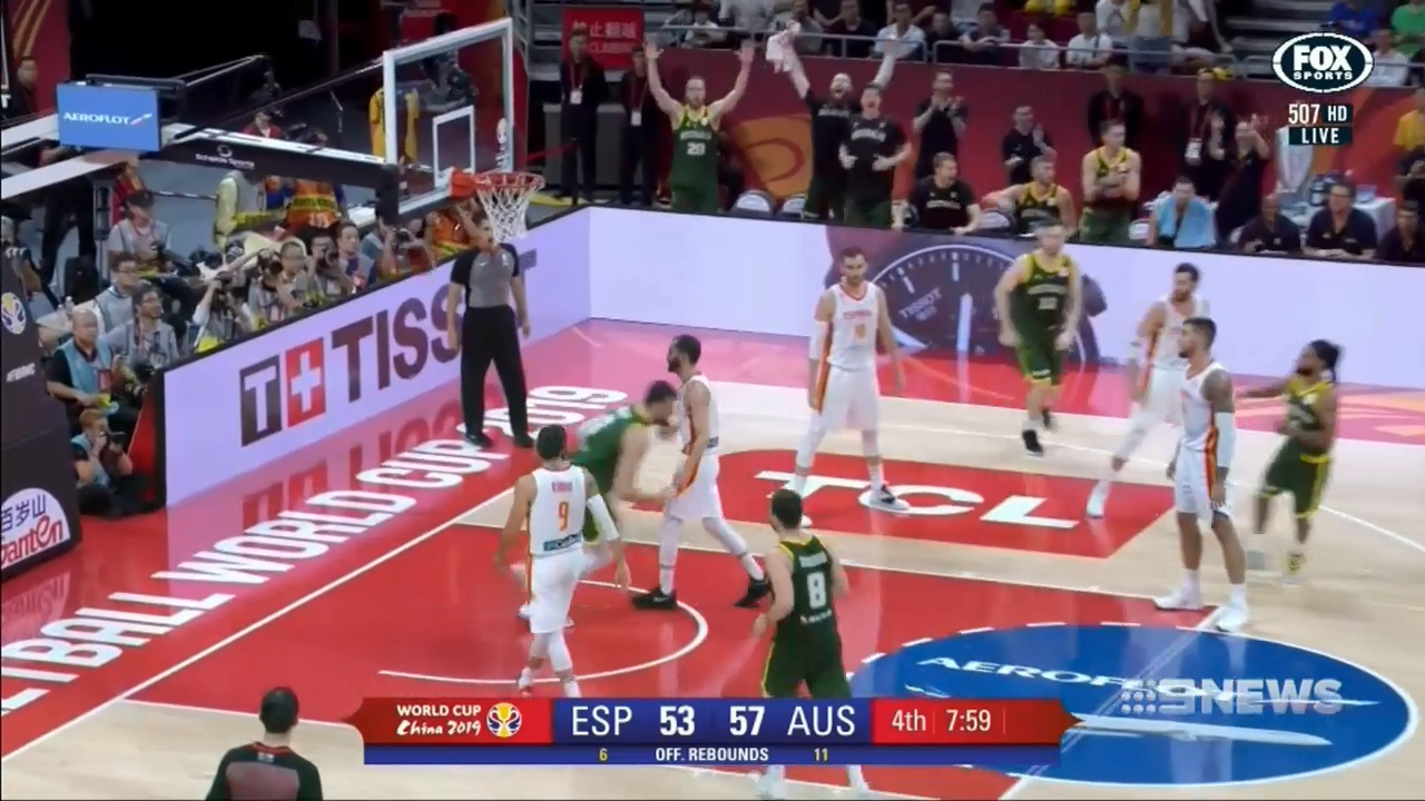 Bogut in trouble for FIBA spray