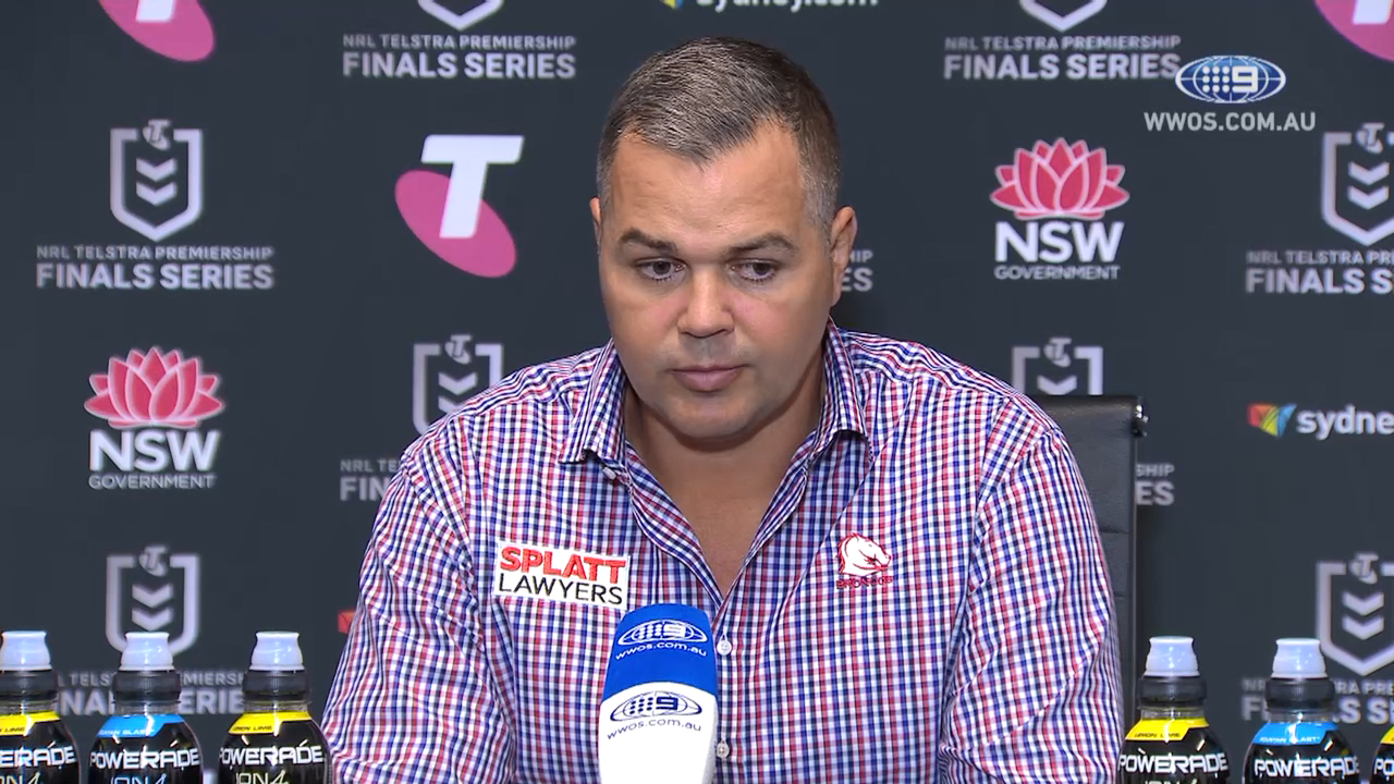 NRL Video 2019 | NRL Press Conference: Anthony Seibold - Finals Week One