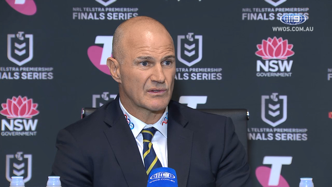 NRL Video 2019 | NRL Press Conference: Brad Arthur - Finals Week One