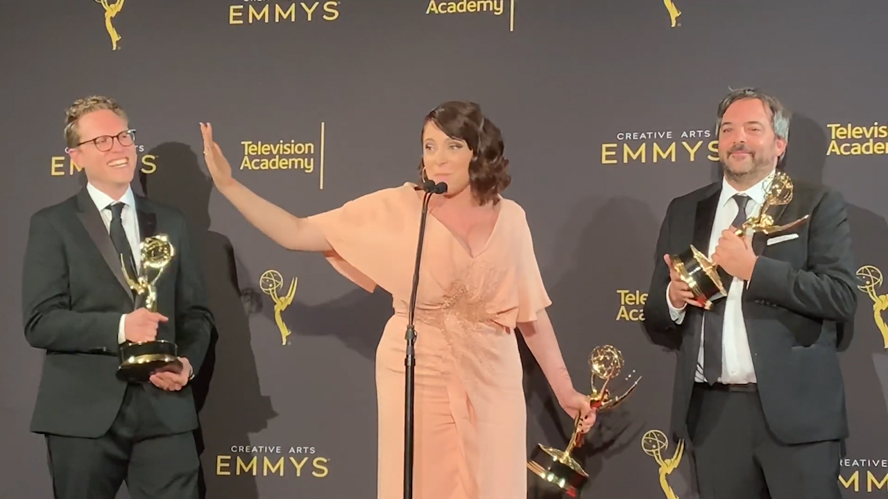 Rachel Bloom announces pregnancy after Emmy win