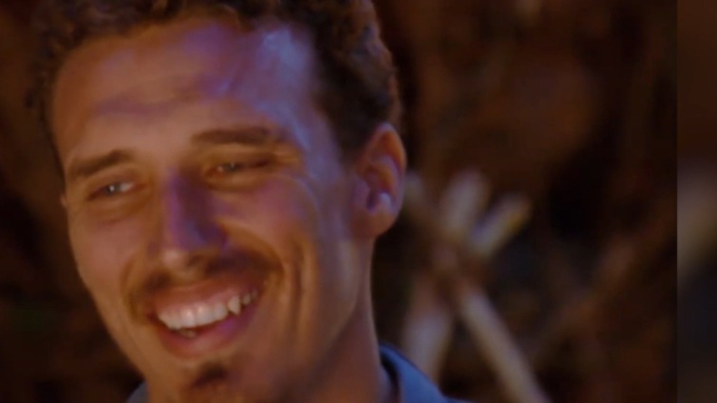 Luke Toki fights for his place in the top four on Australian Survivor
