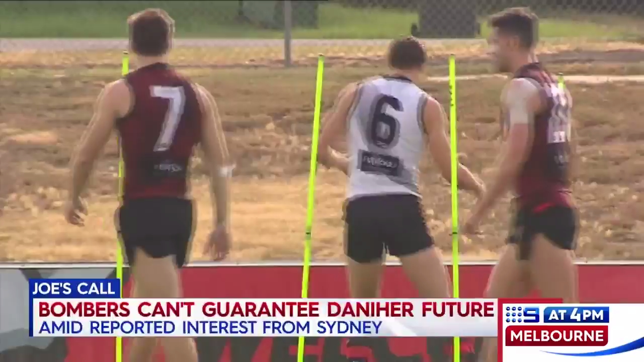 Dons quizzed on Daniher future