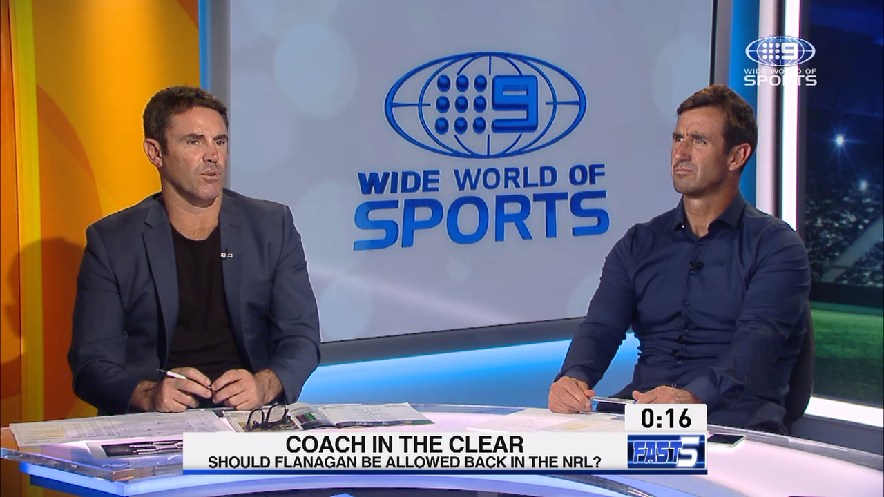 NRL Video 2019 | Andrew Johns & Brad Fittler | Fittler lashes out at Broncos: Fast 5