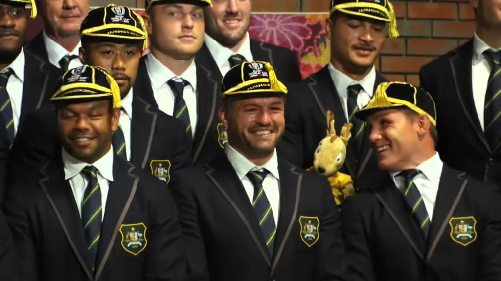 Rugby World Cup 2019 video | Wallabies arrive in Sapporo