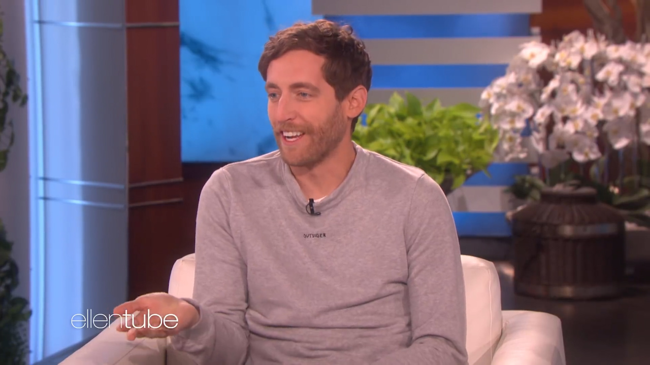 Thomas Middleditch recalls 'ruining' college class photo