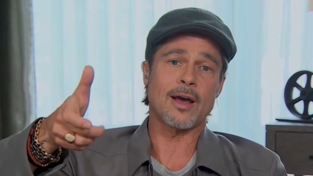 Brad Pitt talks about confronting Harvey Weinstein